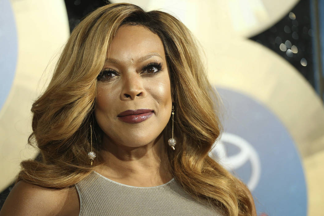 TV talk show host Wendy Williams arrives during the 2014 Soul Train Awards in Las Vegas. (Omar Vega/Invision/AP, File)