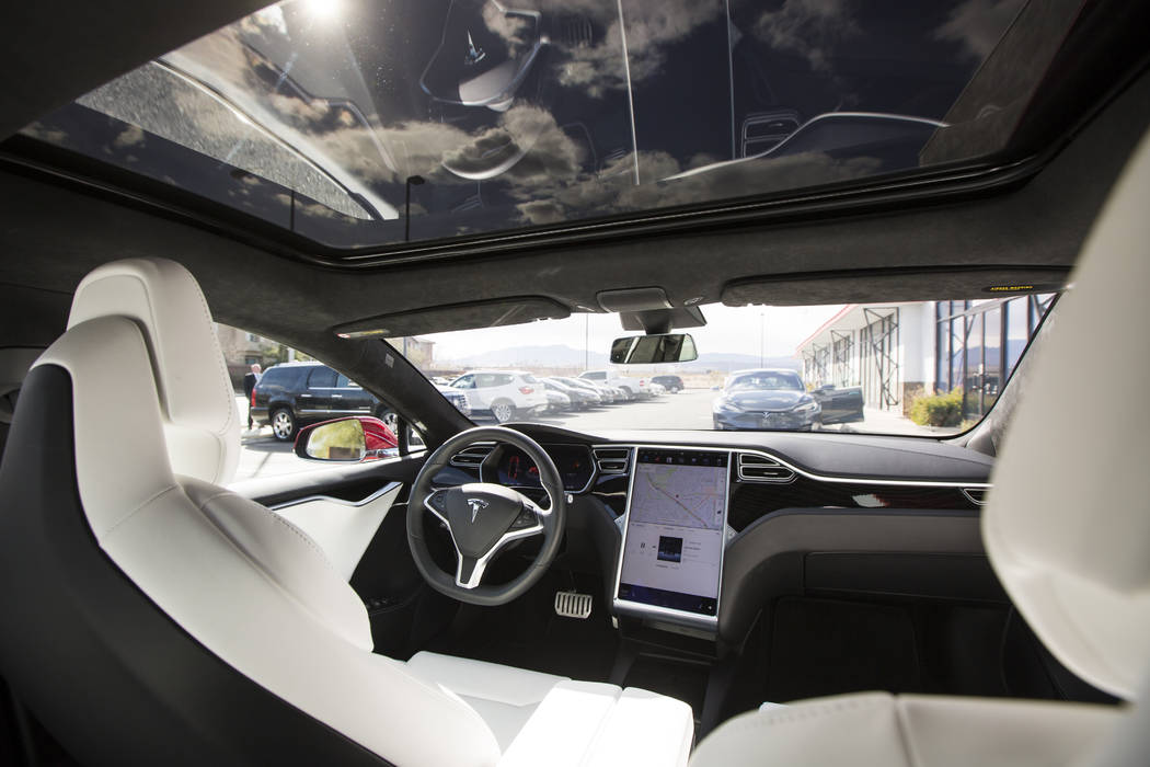 Tesla to join dealerships on Sahara Avenue Friday | Las ...