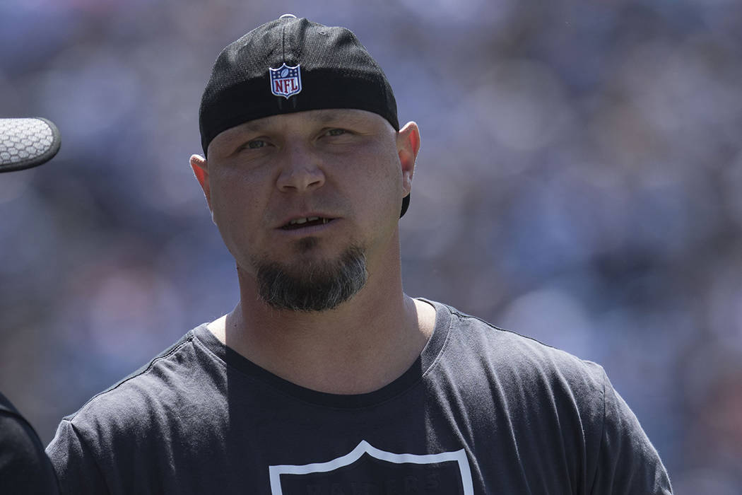 Oakland Raiders kicker Sebastian Janikowski (11) on the sideline for the  team s game against fed291350