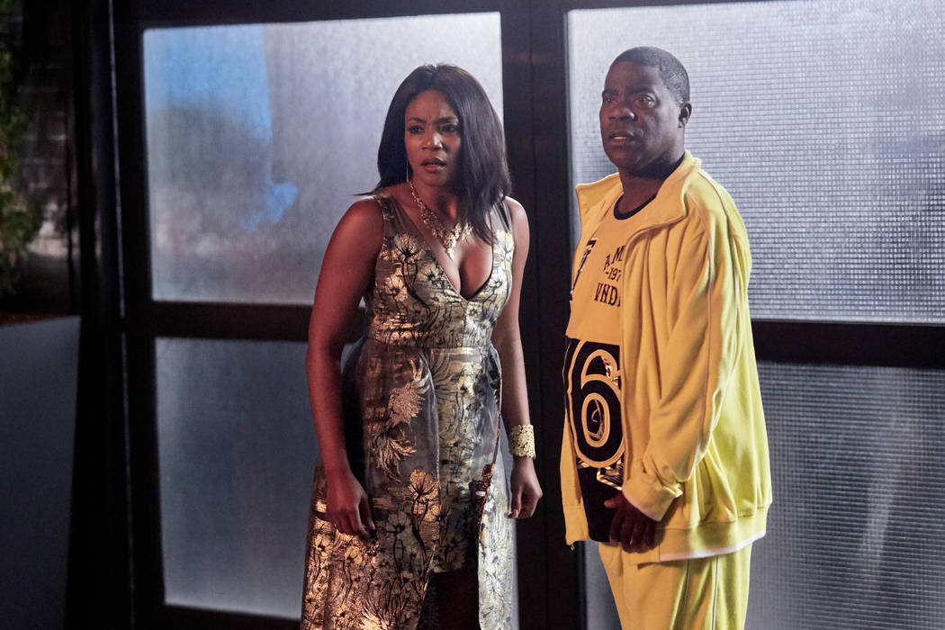 "Tiffany Haddish and Tracy Morgan star in ""The Last O.G."" (Francisco Roman/TBS)"