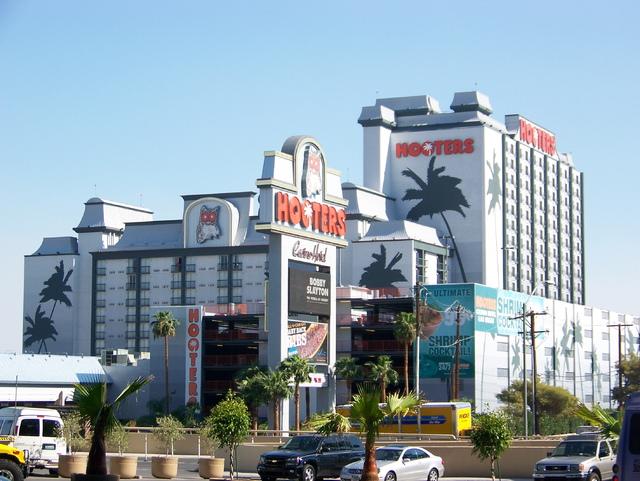 Hooters Casino Hotel in Las Vegas.