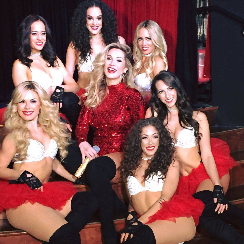 """The cast of the new Hooters Hotel dance/music production """"Eye Candy."""" (Genise Ruidiaz)"""
