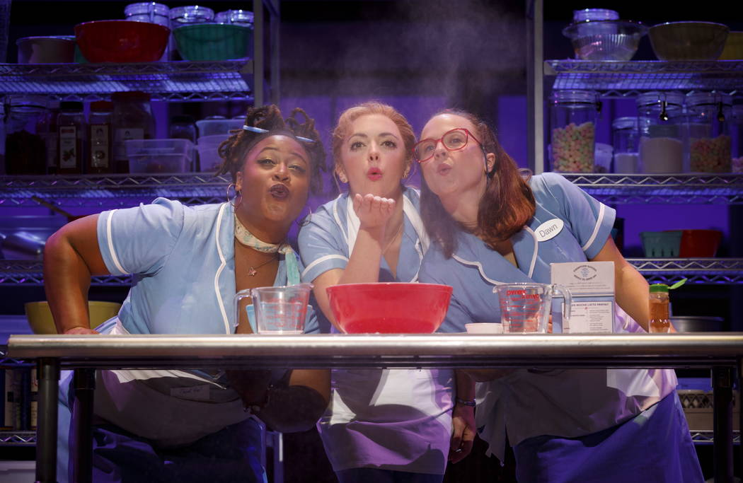 """Waitress,"" part of The Smith Center's 2018-19 Broadway Las Vegas season."