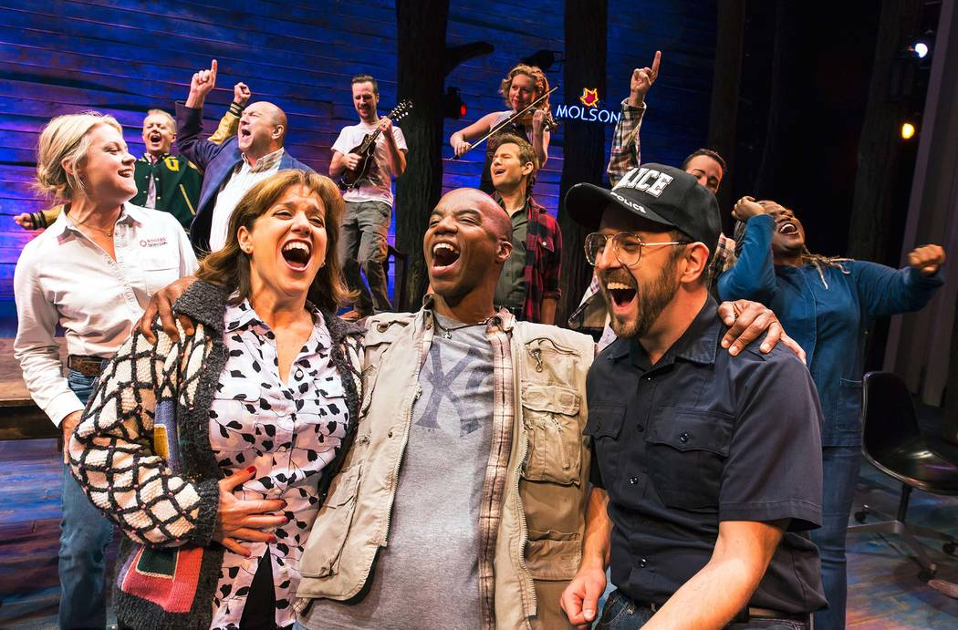 """Come From Away,"" one of the musicals featured in The Smith Center's 2018-19 Broadway Las Vegas season."