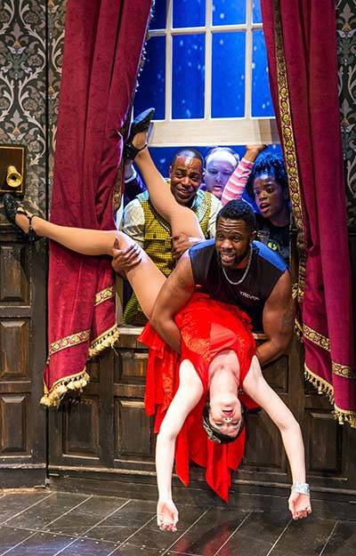"""The Play That Goes Wrong,"" part of The Smith Center's 2018-19 Broadway Las Vegas season."