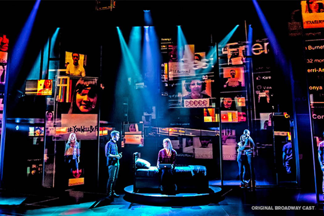"The Broadway cast of the Tony-winning ""Dear Evan Hansen,"" part of The Smith Center's 2018-19 Broadway Las Vegas season."