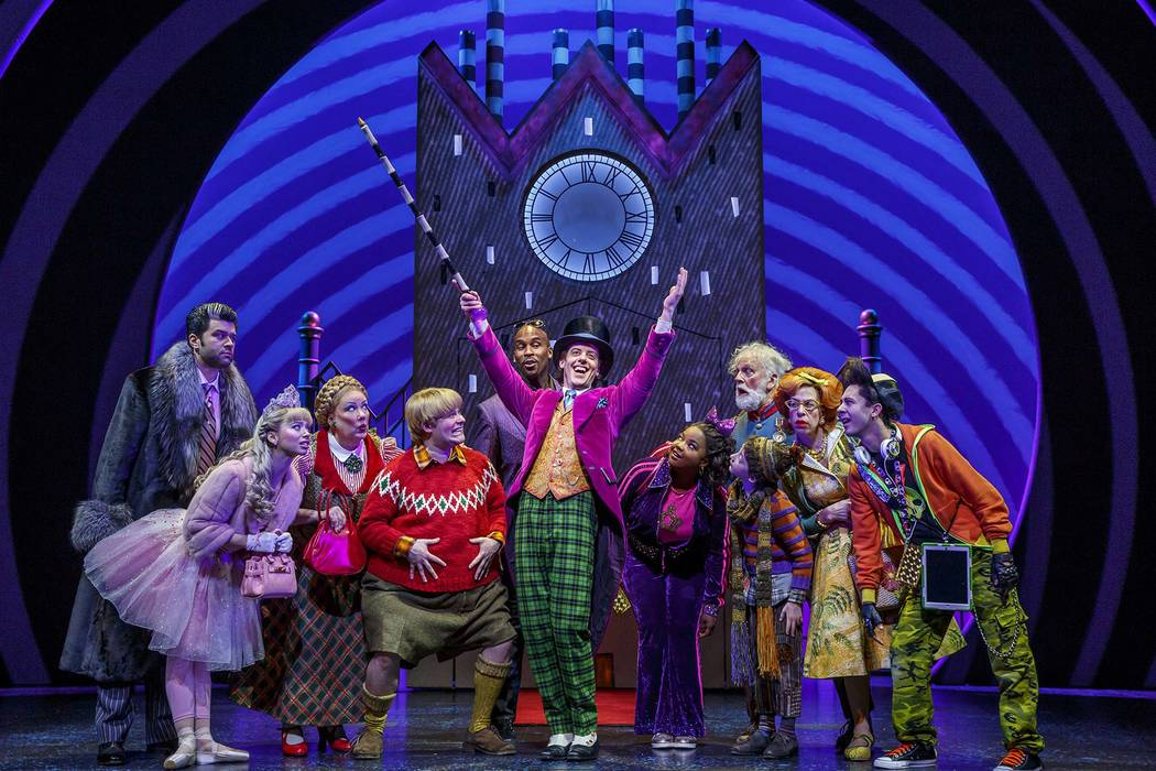 """Charlie and the Chocolate Factory,"" part of The Smith Center's 2018-19 Broadway Las Vegas season."