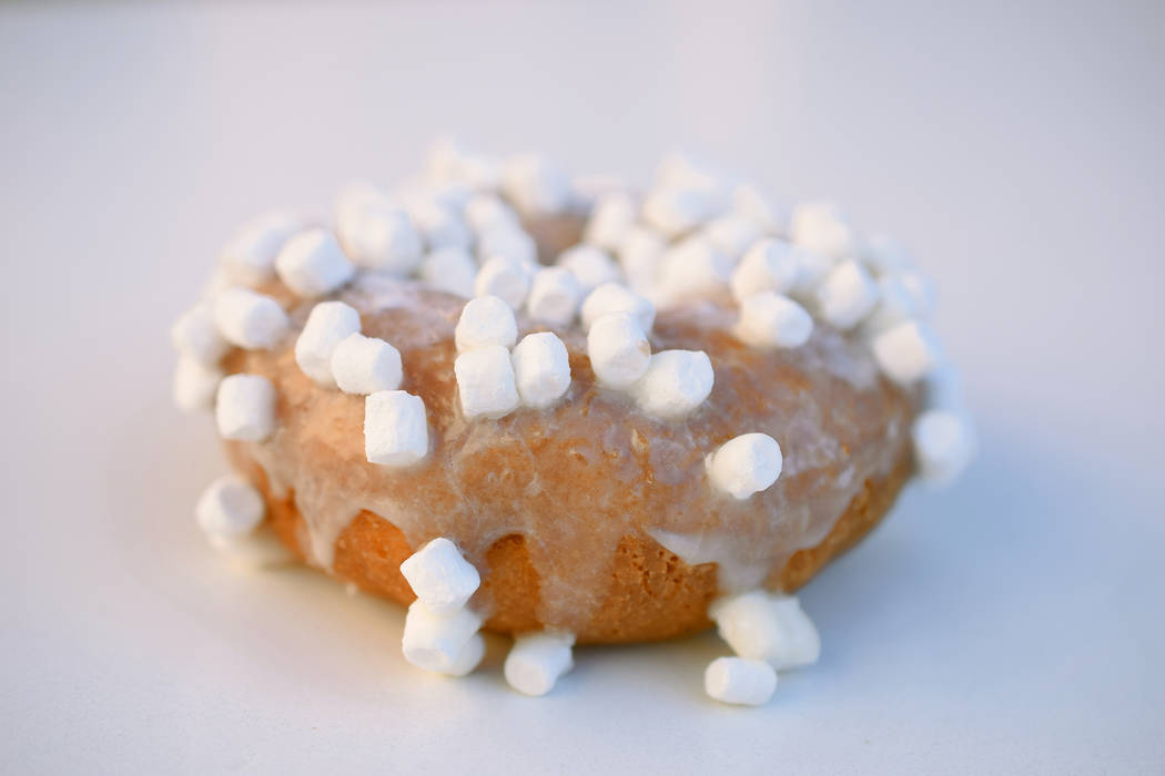 You can get a free White Out doughnut at Fractured Prune in Las Vegas. Fractured Prune