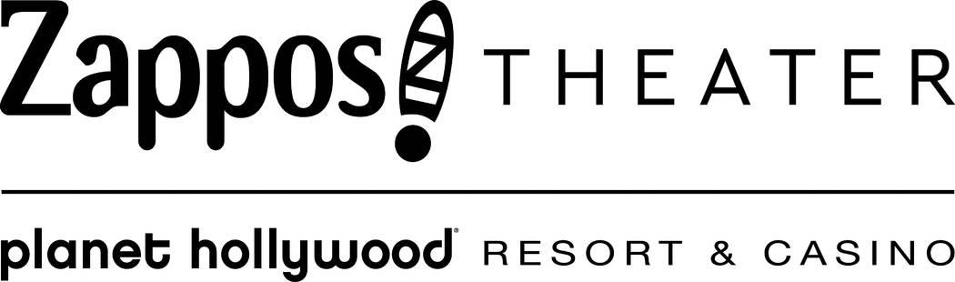 The new Zappos Theater logo. (Caesars Entertainment)