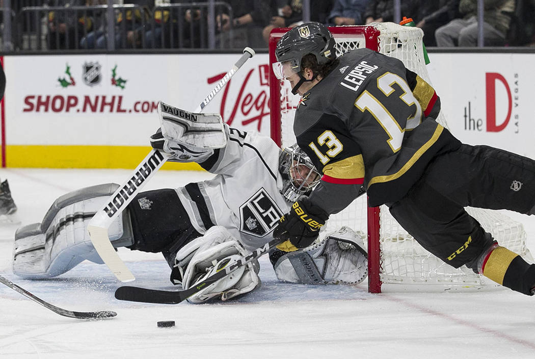 quality design 29e21 33638 Golden Knights, LA Kings set to renew budding rivalry | Las ...