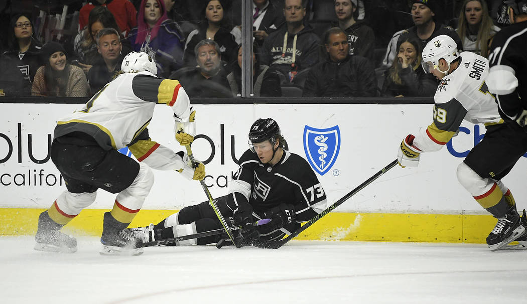 Kings rally for 3-2 overtime win over Golden Knights  43cdddc4c