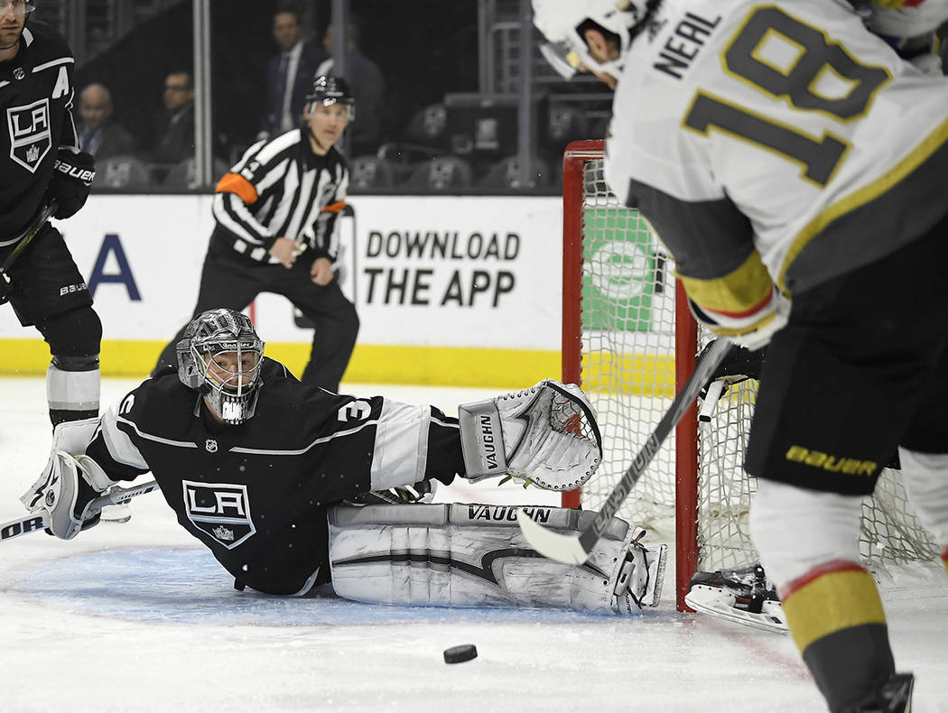 Kings rally for 3-2 overtime win over Golden Knights – Las ...