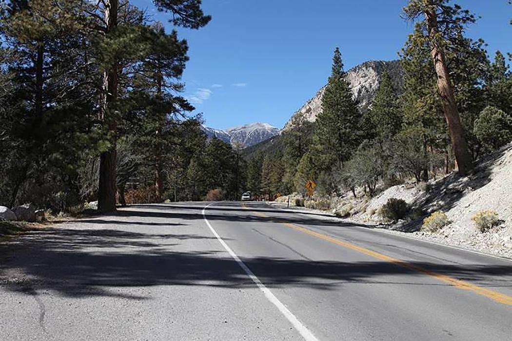 Kyle Canyon Road (Pahrump Valley Times)