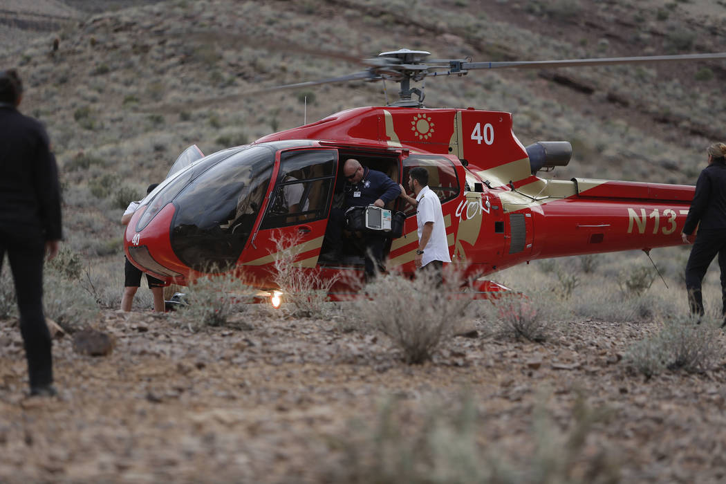 Grand Canyon helicopter crash claims another victim as Brighton honeymooner's wife dies