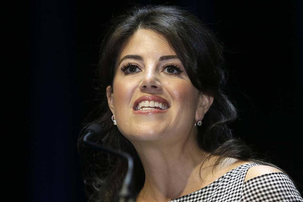 """Former White House intern Monica Lewinsky, seen in 2015, says the affair that led to impeachment proceedings against President Bill Clinton """"was not sexual assault"""" but """"constituted a gross  ..."""