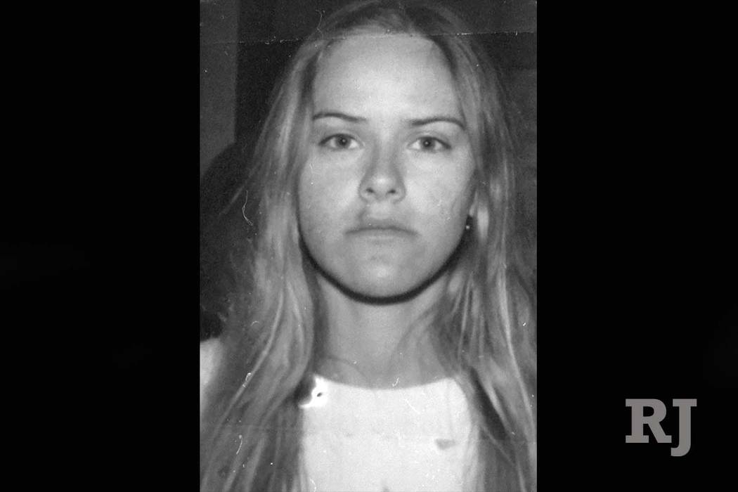 Jessica Williams, 21, whose van ran off the freeway and killed six teens that were cleaning up the I-15 median on March 19, 2000. (Las Vegas Review-Journal, File)
