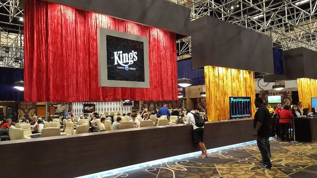 The King's Cash Game Lounge inside the Pavilion Room at the Rio is named for a casino owned by Leon Tsoukernik, who is at the center of a lawsuit over $3 million exchanged at a poker table inside  ...