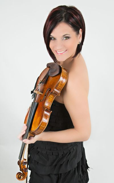 Las Vegas Philharmonic concertmaster De Ann Letourneau will play a rare Stradivarius violin at Saturday's concert. COURTESY LAS VEGAS PHILHARMONIC