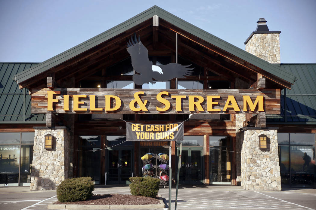 Dick's Sporting Goods, owner of Field & Stream stores, made an announcement Wednesday that they will immediately end sales of assault-style rifles and high capacity magazines at all of its stores  ...