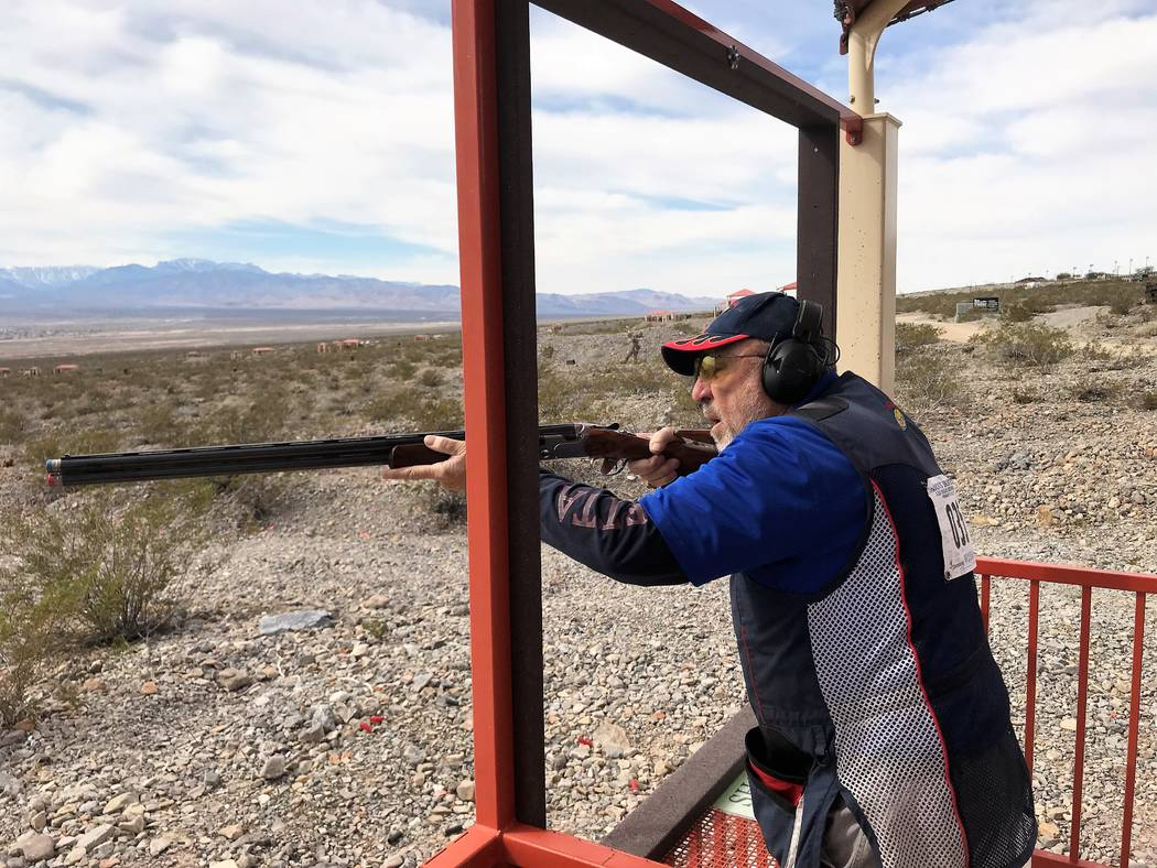 Shooters take aim at clay targets in Ducks Unlimited event