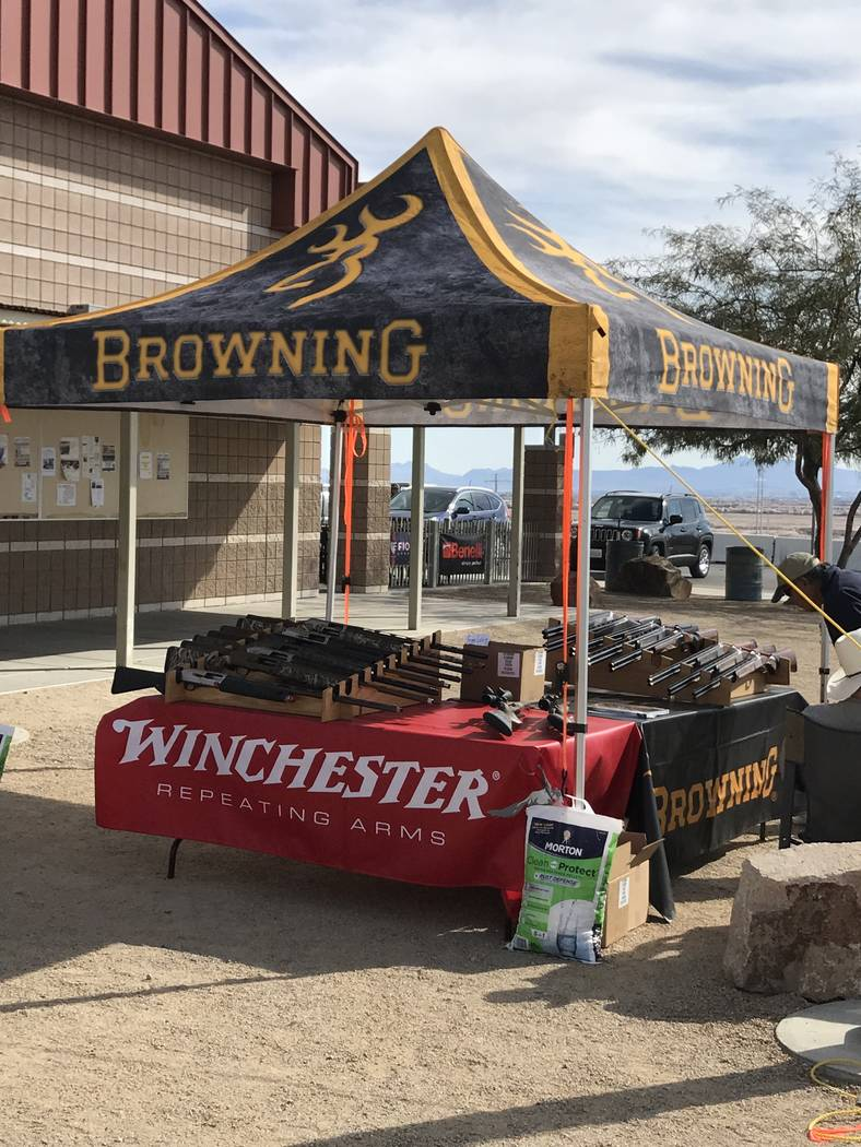 The Browning Arms Company is a primary sponsor of the Ducks Unlmited Continental Shoot held annually for the past several years at the Clark County Shooting Complex. Other sponsors include Fiocchi ...