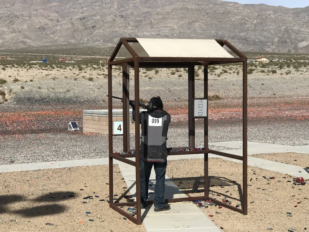 In addition to sporting clays, the Ducks Unlimited Continental Shoot offers participants the chance to shoot a round of 5-Stand as well. (Doug Nielsen)