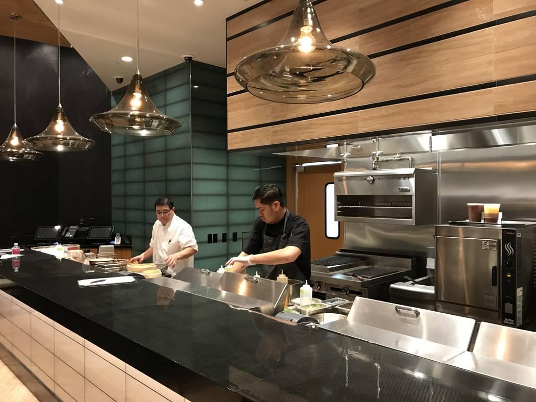 Pre-opening work is underway at Send Noodles.: Al Mancini