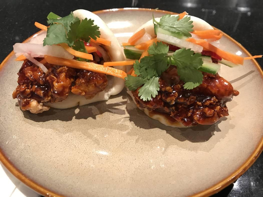 Crispy Chicken Bao at Send Noodles: Al Mancini