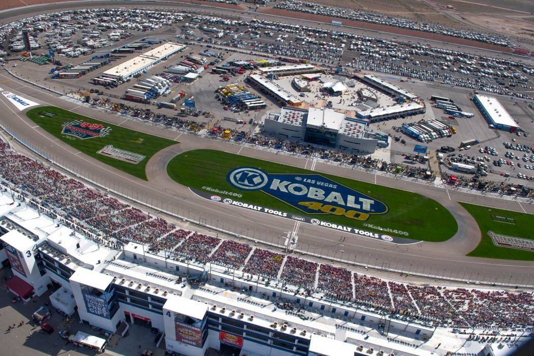 The Kobalt 400 at Las Vegas Motor Speedway on Sunday, March 12, 2017. (Tom Donoghue)