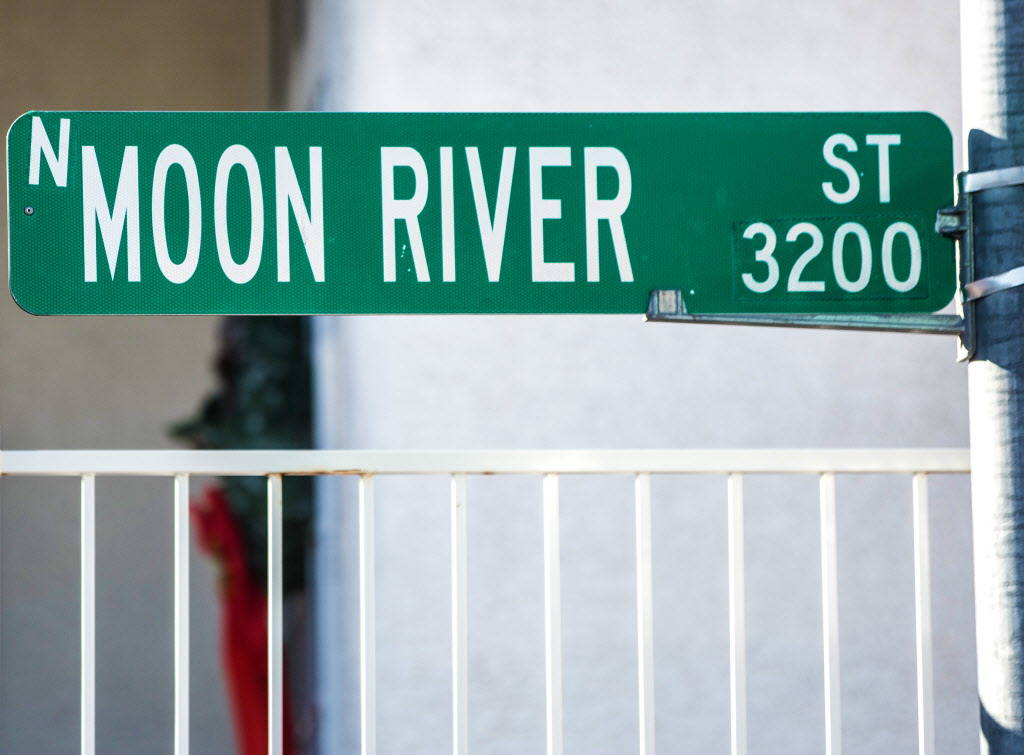 Moon River Street on Wednesday, Dec. 20, 2017, in Las Vegas. Benjamin Hager Las Vegas Review-Journal @benjaminhphoto