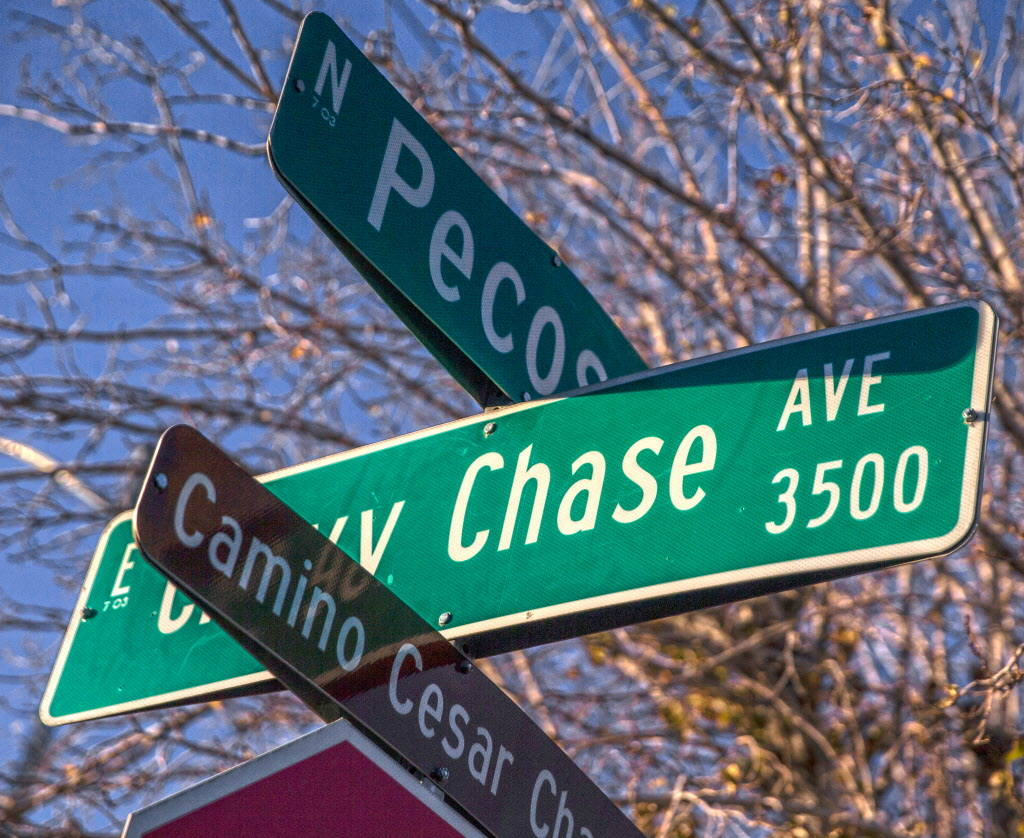 Chevy Chase Ave on Wednesday, Dec. 20, 2017, in Las Vegas. Benjamin Hager Las Vegas Review-Journal @benjaminhphoto