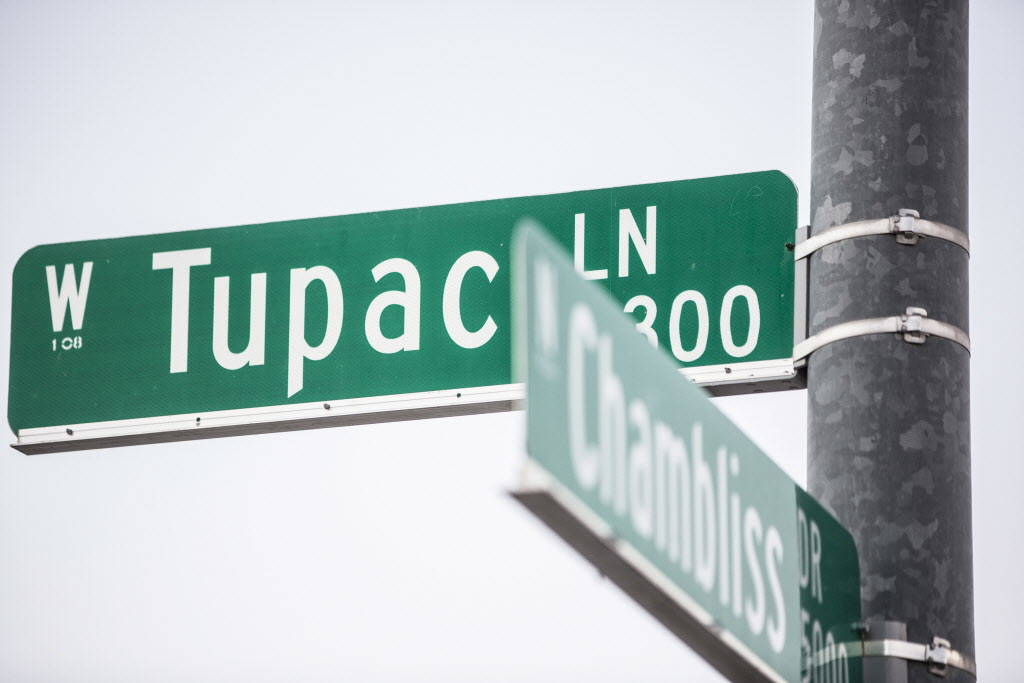 Tupac Lane on Wednesday, Dec. 20, 2017, in Las Vegas. Benjamin Hager Las Vegas Review-Journal @benjaminhphoto