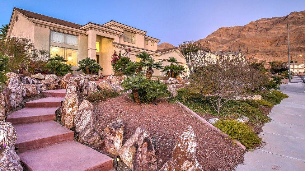 The 4,000-square-foot home is in northeast Las Vegas in Clearview Estates. (Horizon Realty Group)
