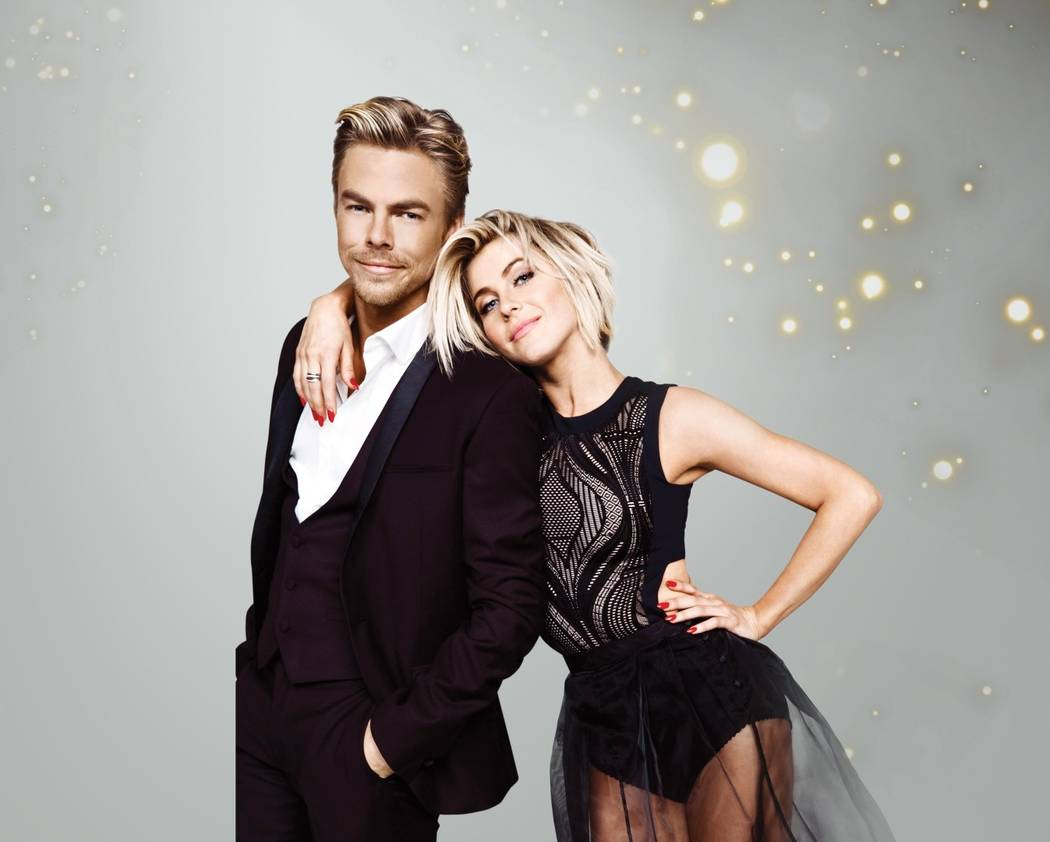 """Dancing with the Stars"" brother-and-sister combo of Derek and Julianne Hough. (Dancing with the Stars)"
