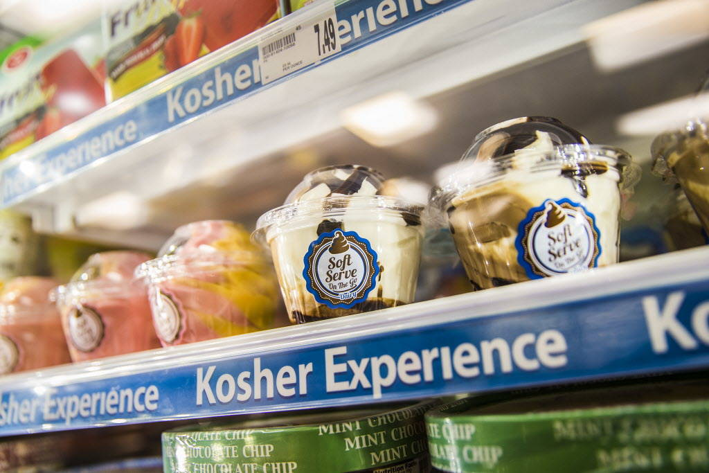 Kosher frozen desserts in the Kosher Experience section at Smith's at 2211 N. Rampart Blvd on Wednesday, January 10, 2018, in Las Vegas. Benjamin Hager Las Vegas Review-Journal @benjaminhphoto