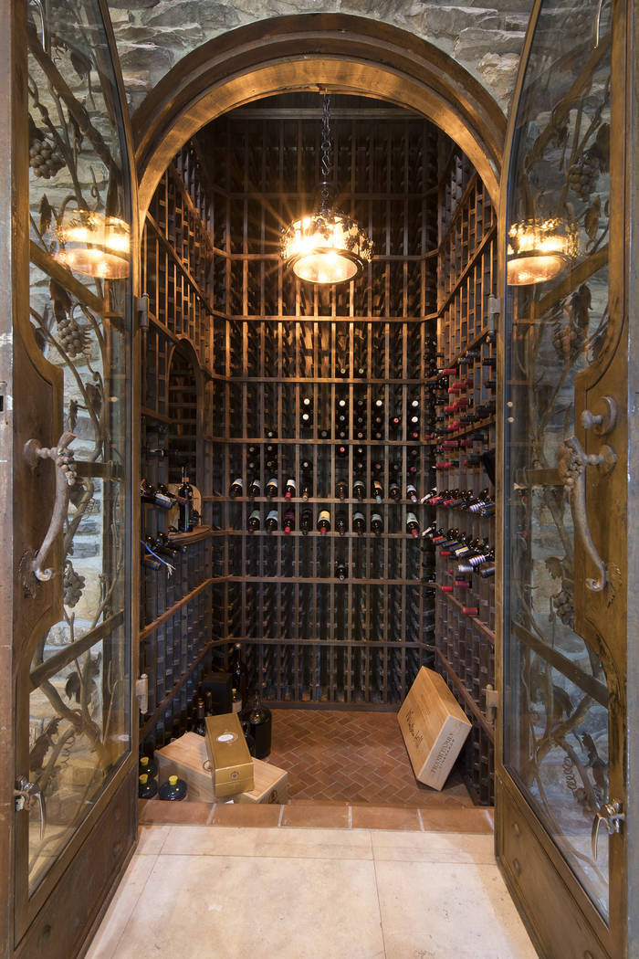 The home has two wine cellars. (Synergy/Sotheby's International Realty)
