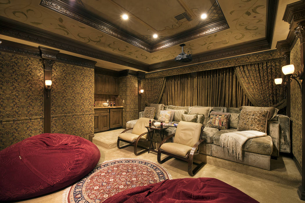 The theater. (Synergy/Sotheby's International Realty)