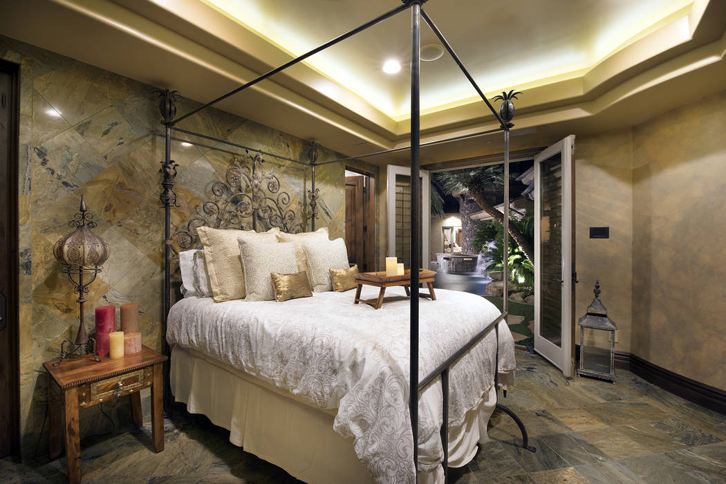 The home has four sound-proof en suite bedrooms. (Synergy/Sotheby's International Realty)