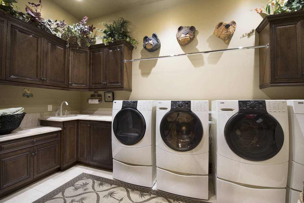 The laundry room. (Synergy/Sotheby's International Realty)
