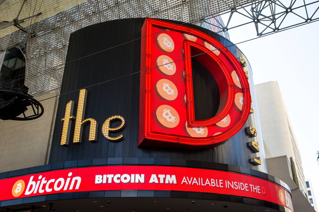 The D Las Vegas on Thursday, Feb. 15, 2018. The hotel-casino is now accepting Bitcoin at some of its restaurants, gift shop and hotel desk.  Patrick Connolly Las Vegas Review-Journal @PConnPie