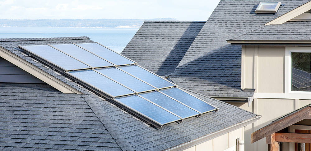 Most local homebuilders have continued to provide electrical prewiring options and conduit space to accommodate residential solar power systems within new communities, but left installation decisi ...