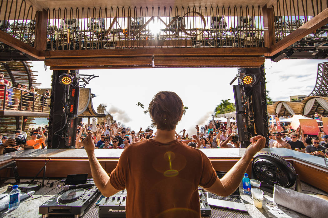 Zedd performs Feb. 24 at the opening of Omnia dayclub in Los Cabos. (Joe Janet)