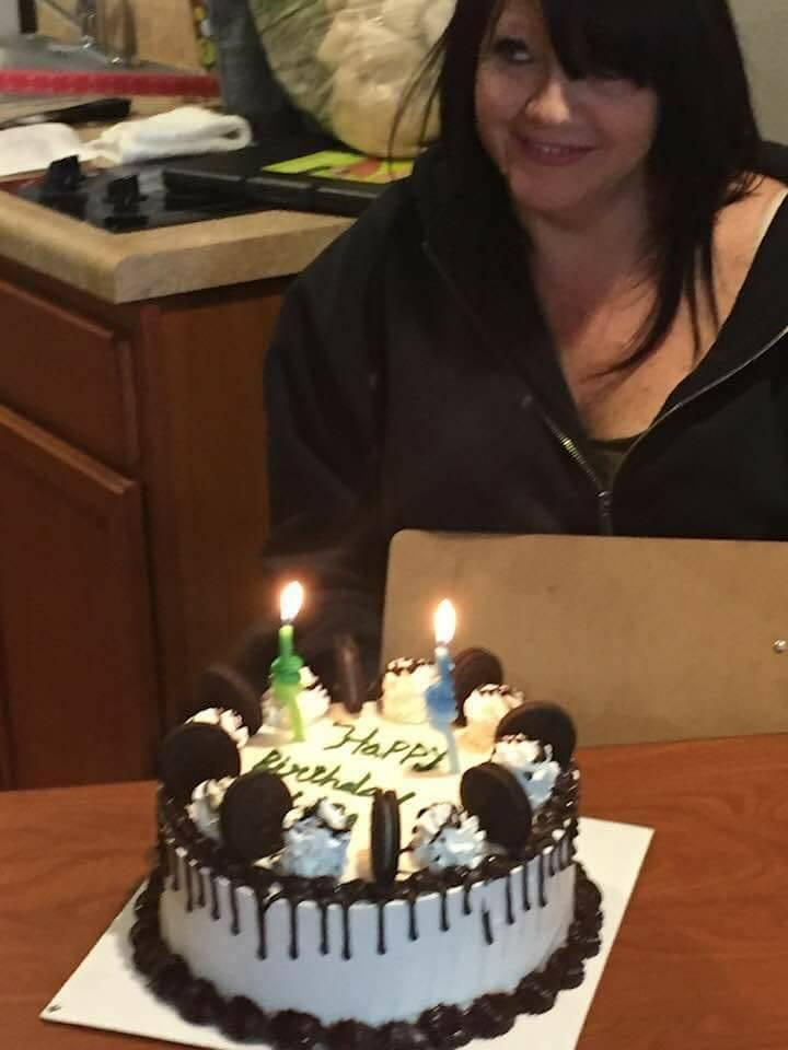 Lisa Gori at an undated birthday celebration. (Courtesy Steve Gori)