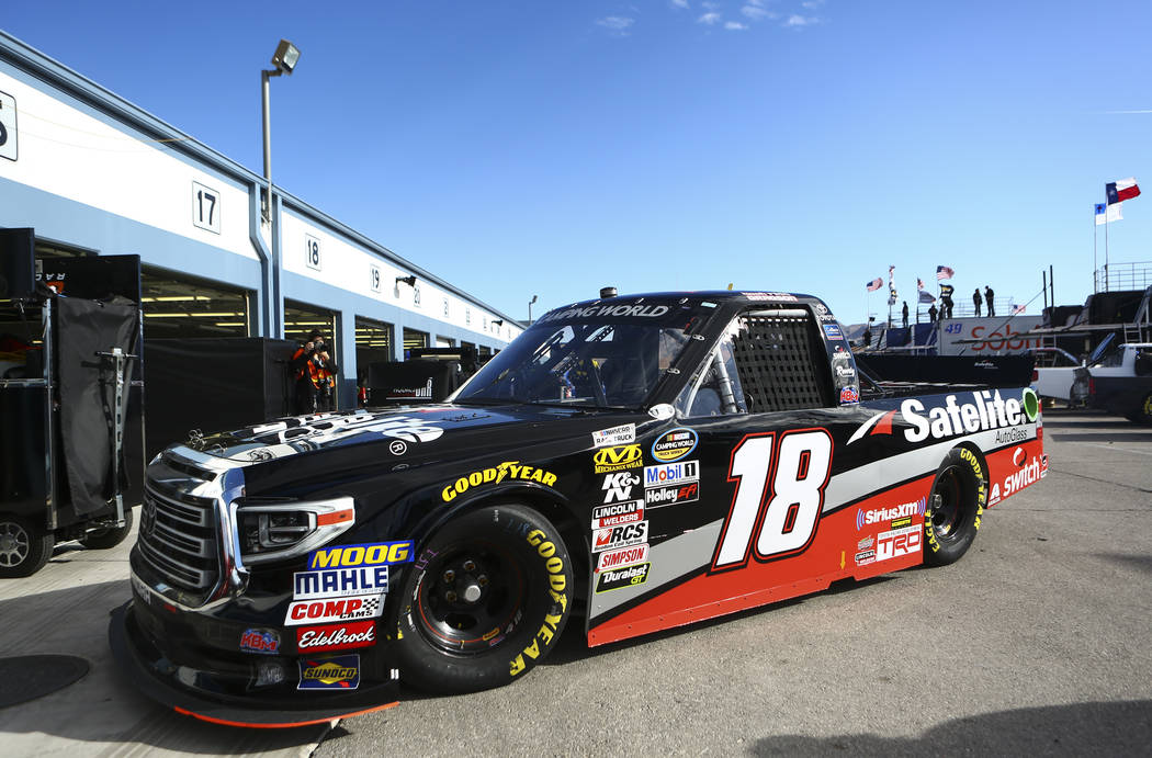 Noah Gragson Hopes To Keep On Truckin In Hometown Nascar