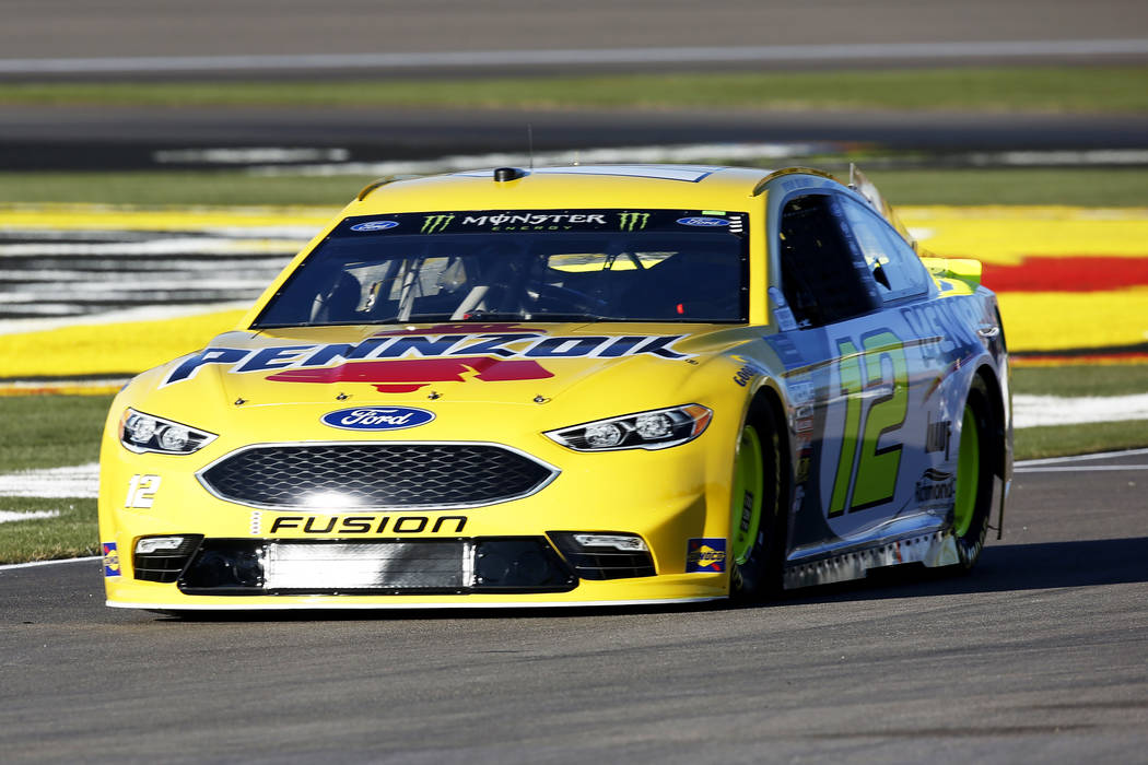 Ryan Blaney captured his third career pole and his first at the Las Vegas Motor Speedway in Las Vegas on Friday, March 2, 2018. Blaney, who claimed the front spot for Sunday's Pennzoil 400, posted ...