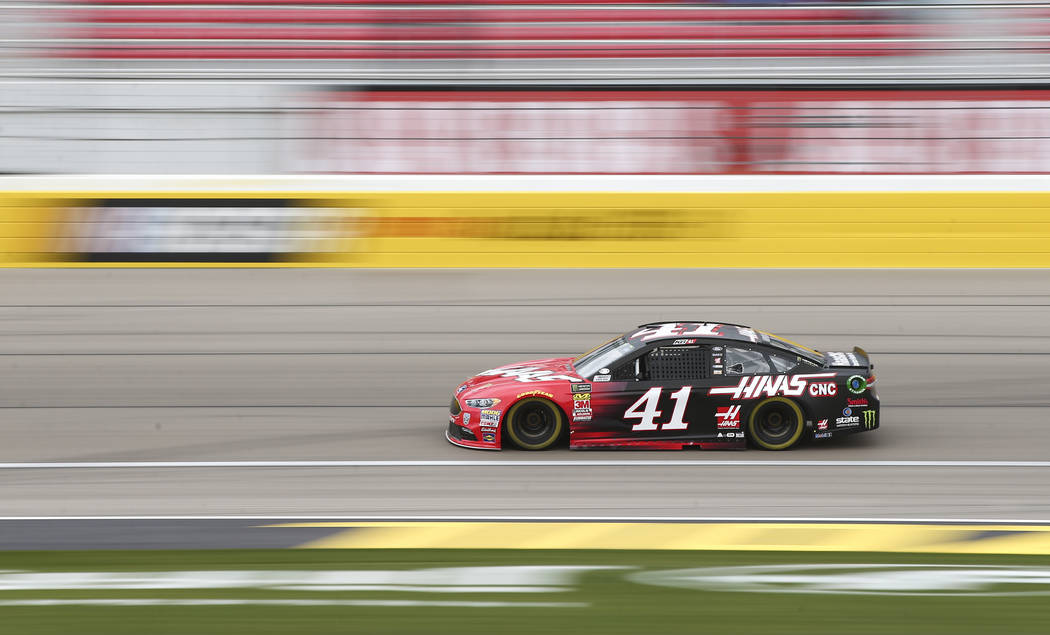 Monster Energy NASCAR Cup Series driver Kurt Busch (41) during final practice at the Las Vegas Motor Speedway in Las Vegas on Saturday, March 3, 2018. Chase Stevens Las Vegas Review-Journal @csste ...