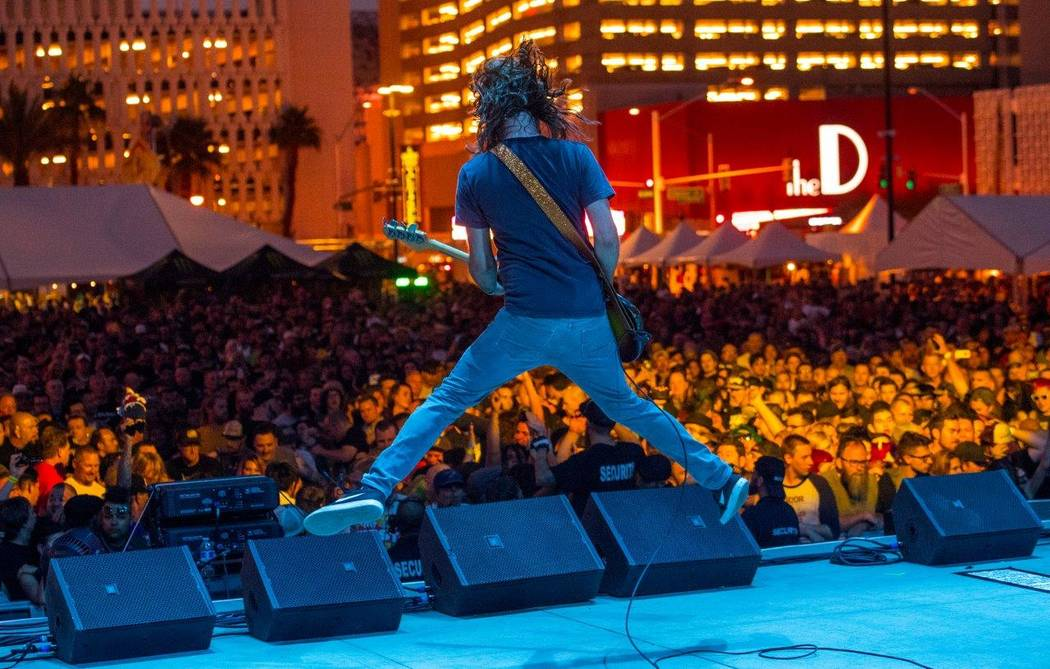 The Punk Rock Bowling & Music Festival on Saturday, May 27, 2017, at Downtown Las Vegas Events Center. (Tom Donoghue)