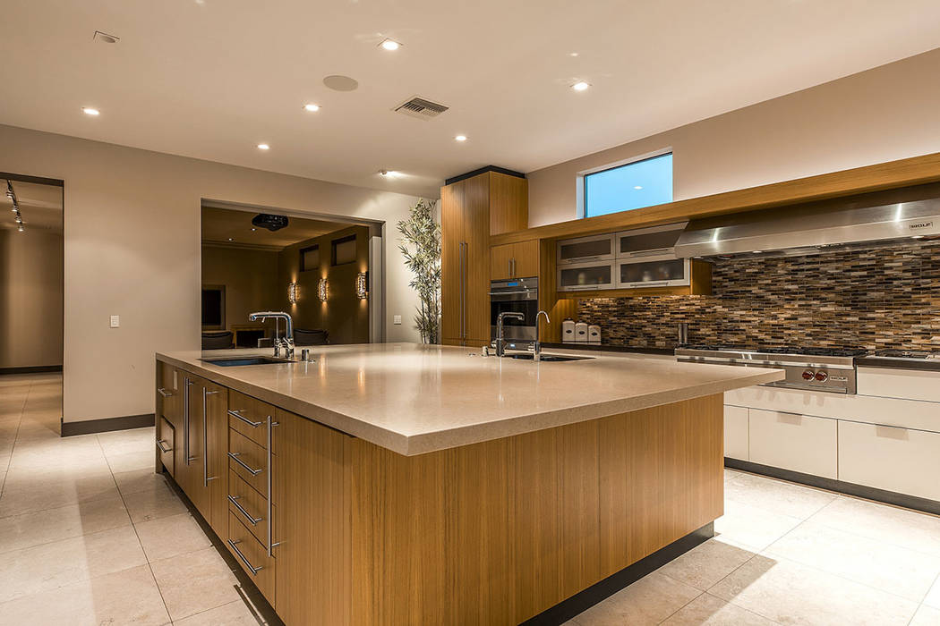 The kitchen has a modern design. (Shapiro & Sher Group)
