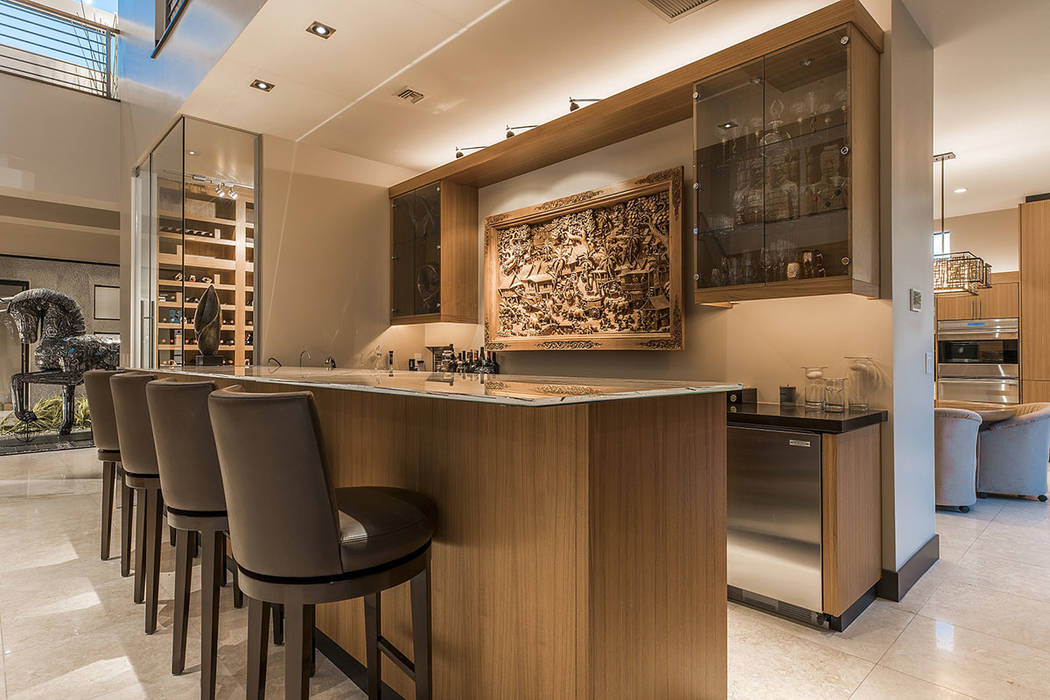 The bar.  (Shapiro & Sher Group)