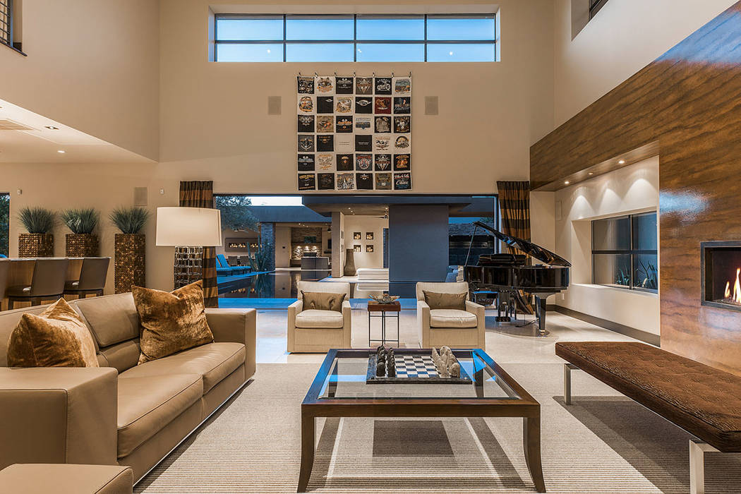 The living room.  (Shapiro & Sher Group)